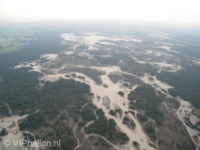 Ballonvaren over de Loonse en Drunense duinen naar Udenhout