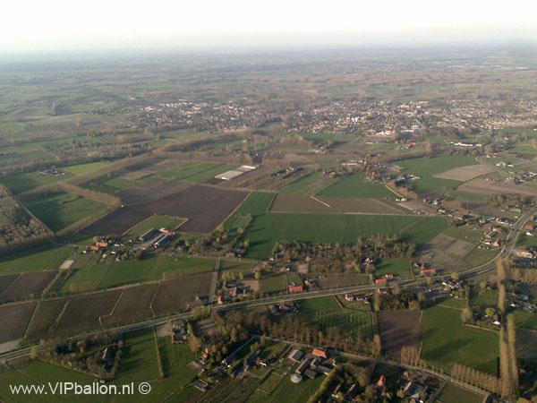 Ballonvaart vanuit Schijndel naar Boxtel (Lennisheuvel)
