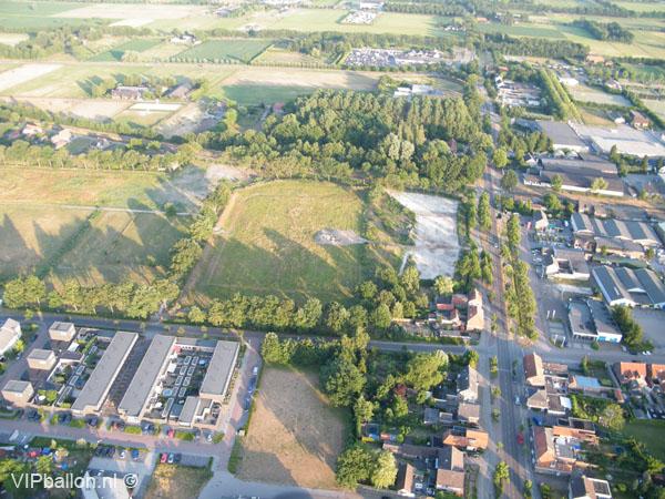 Priveballonvaart start in Schijndel ballonlanding Gemert