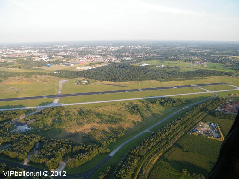Luchtballon Welschap Eindhoven Airport