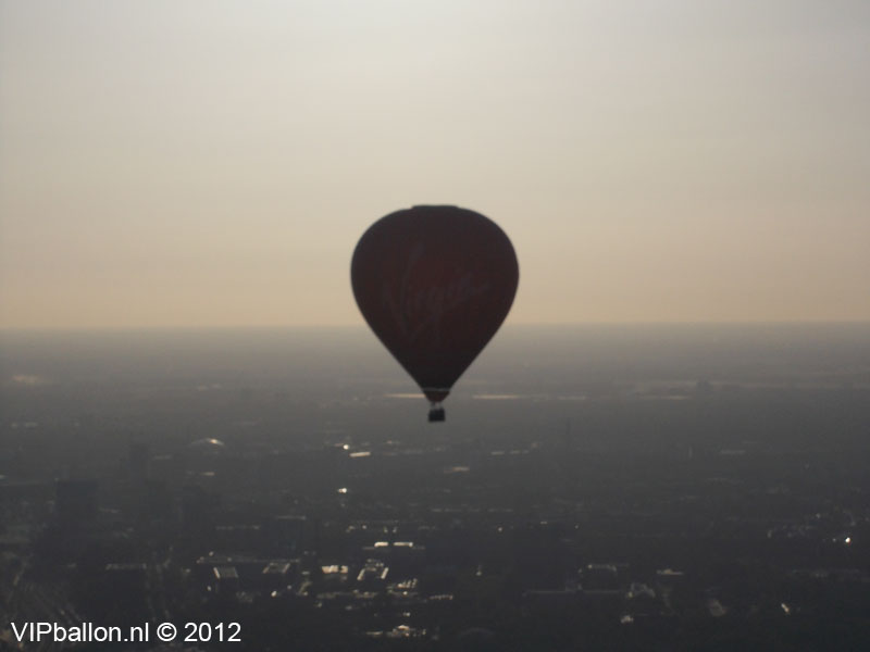 luchtballonvaart Eindhoven ballonlanding Deurne