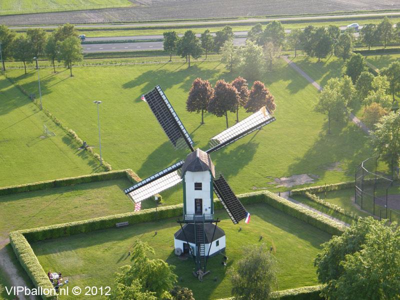 Luchtballonvaart Uden Moederdag ballonvaart naar Zeeland