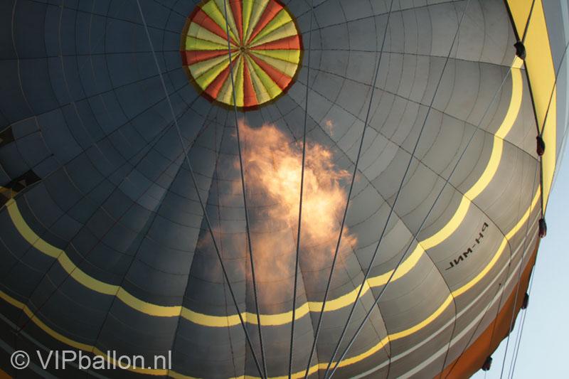 Ballonvaart Uden naar Beek en Donk