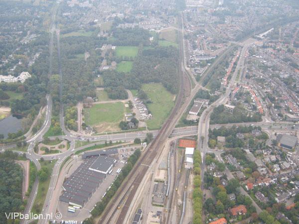 Ballonvaart Eindhoven Veldhoven Steensel 17 okt 2010