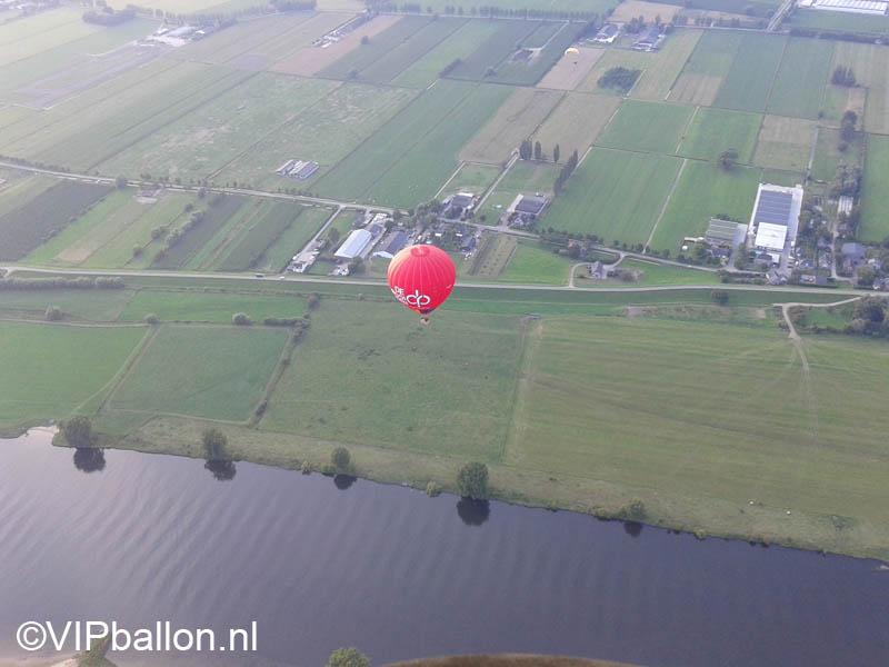 Ballonvaren vanuit Empel naar Rossum.