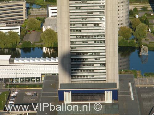 VIP Ballonvaart van Den Bosch naar Herwijnen. Ballonvaren op 1 km hoogte en uitzicht op de Noordzee vanuit de ballon.