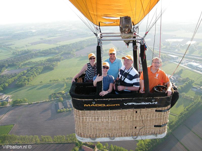 Ballonvlucht Uden Veghel St Oedenrode ballonvlucht Boskant