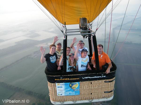 Prive Ballonvaart Deurne Leunen Meerlo