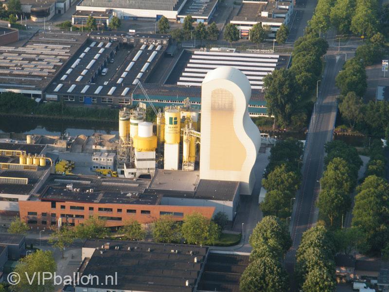 Ballonvaart met familie van Gerwen over Eindhoven naar Knegsel