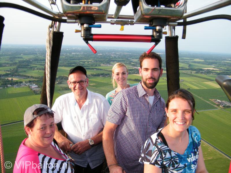Familie ballonvaart van Geffen naar Schijndel