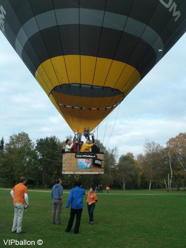 Herfst ballonvaart Einhoven Erp (foto's Tiny Brok en Stan Spierings)