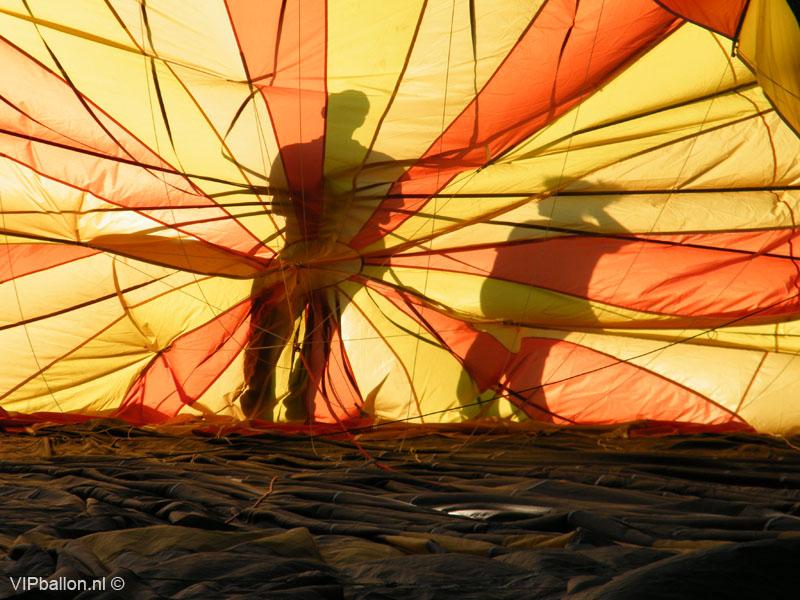 Luchtballon Uden ballonlanding Oss