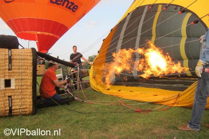 Luchtballonvaart van Eindhoven naar Someren-Eind