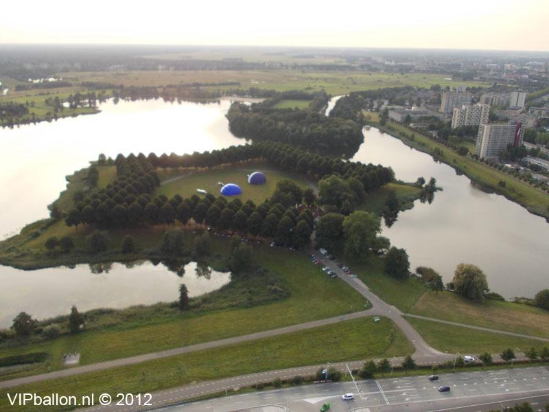 pettelaar den-bosch ballon start voor ballontocht naar heesch