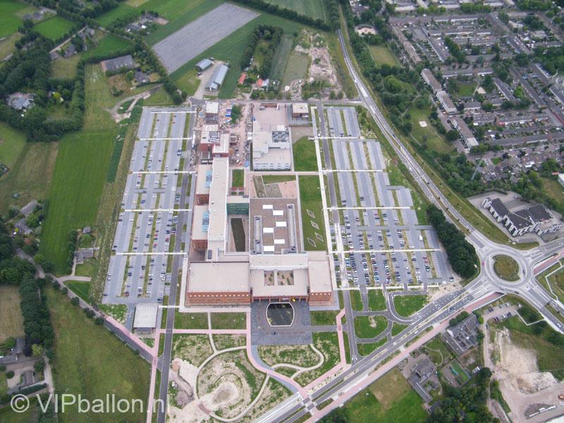 Luchtfoto ziekenhuis Uden