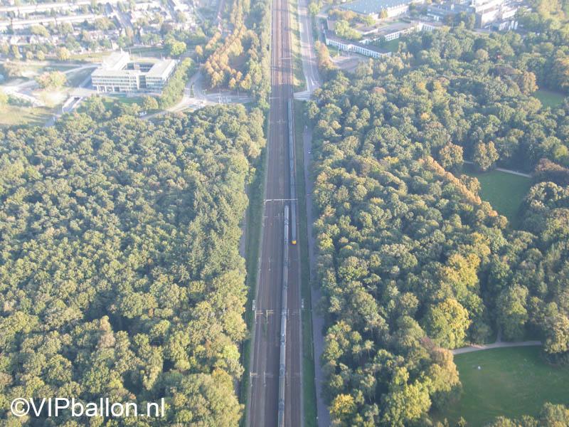 De spoorlijn van Den Bosch naar Eindhoven