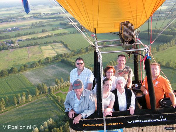 Priveballonvaart Heesch bij Oss- St Oedenrode