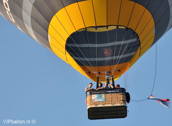 Ballonvlucht van Helmond naar Gemert