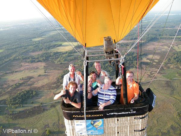 Ballonvaart van Mierlo naar Leenderstrijp