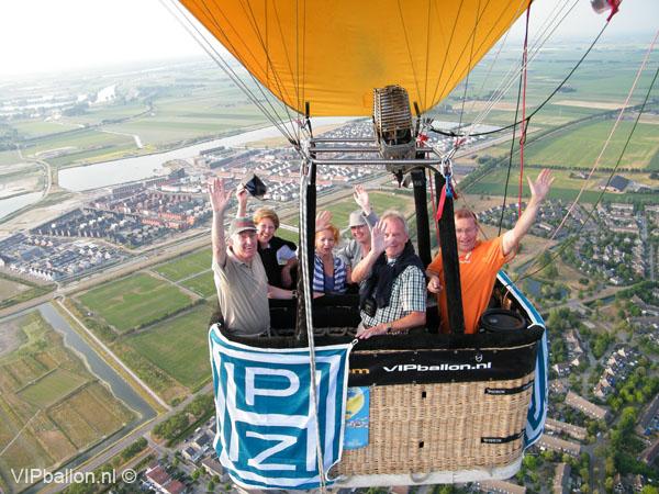 Priveballonvaart van Rosmalen via Berlicum naar Schijndel