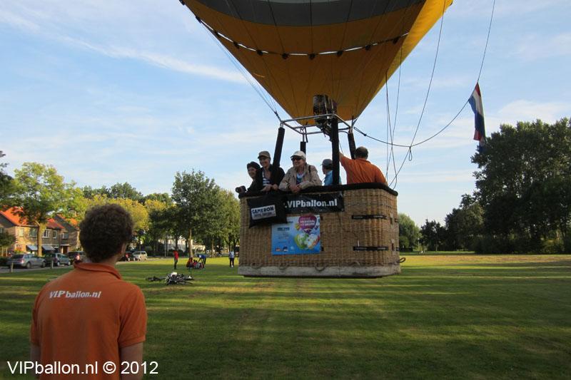 Ballonvaart Helmond Bakel