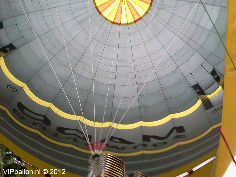familie ballonvaart lithoyen naar maren-kessel
