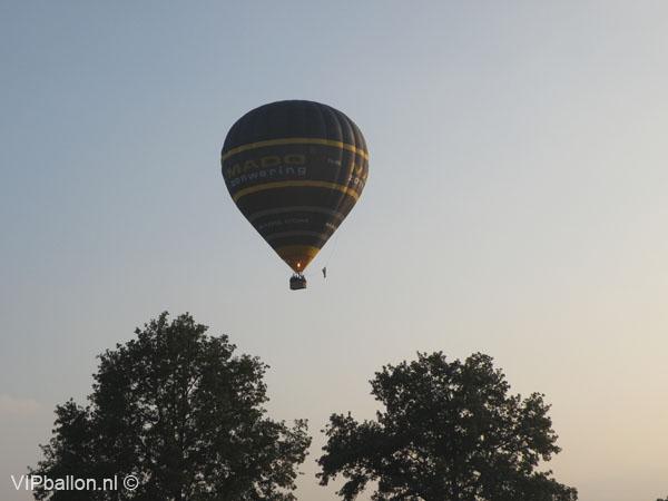 Ballonvaren in de buurt van Gemert.