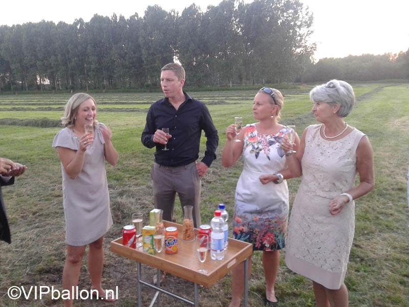Ballonvaart vanuit Veghel naar Mill