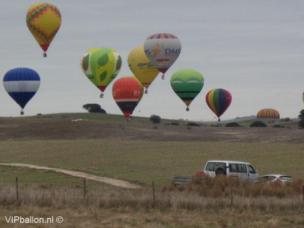 Ballonvaren in Portugal