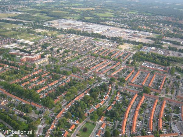Ballonvaren van Eindhoven naar Sterksel