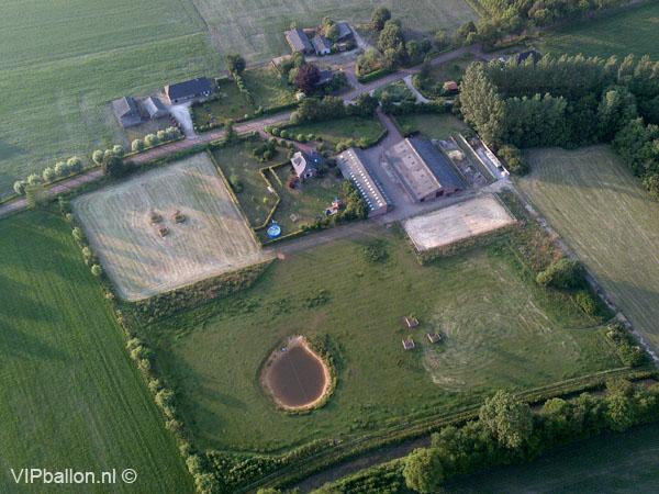 VIP ballonvaart van Oss via Heesch en Vinkel naar Heeswijk