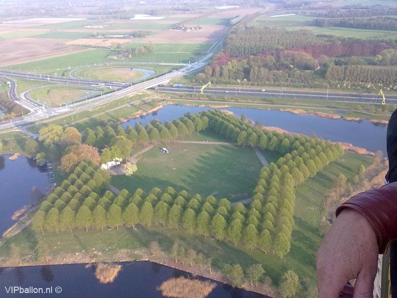 Ballonvaren Den Bosch ballonvlucht Veen