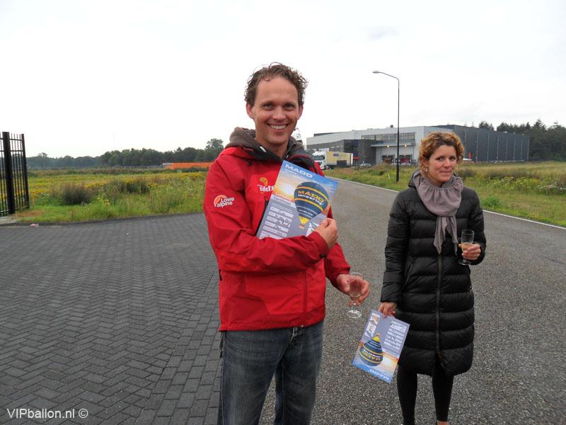 groepsballonvaart Den Bosch naar Oss
