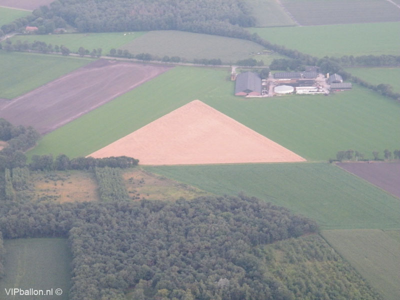Ballonvlucht vanuit Oss naar Landhorstt