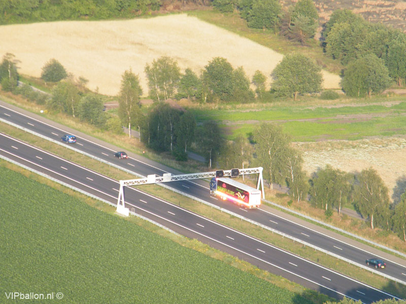 Middelbeers luchtballonvaart via Vessem, Duizel, Eersel naar Lommel (B)