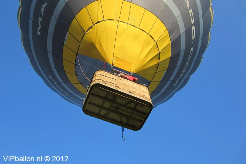 ballonvaart van Den Bosch naar Kaatsheuvel