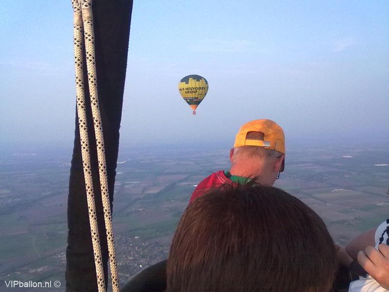 Ballonvaren Uden Berlicum ballonvlucht