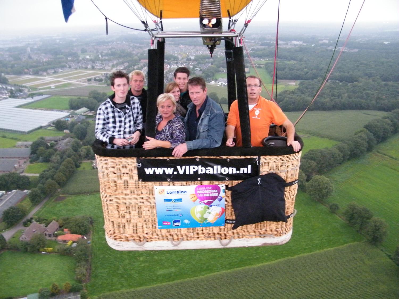ballonvaart Helmond naar Merselo