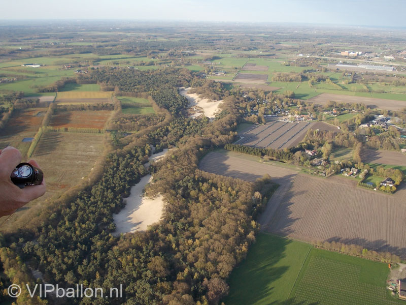 Ballonvaart van Veghel naar Koolwijk