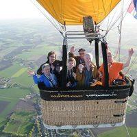 Priveballonvaart<br>meer dan 6 personen