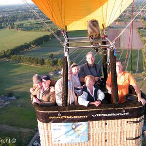 prive ballonvaart met 6 personen