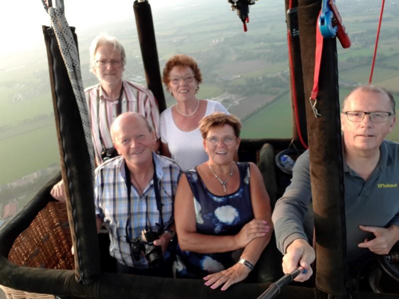 Ballonvaart maken van Schijndel naar Boerdonk