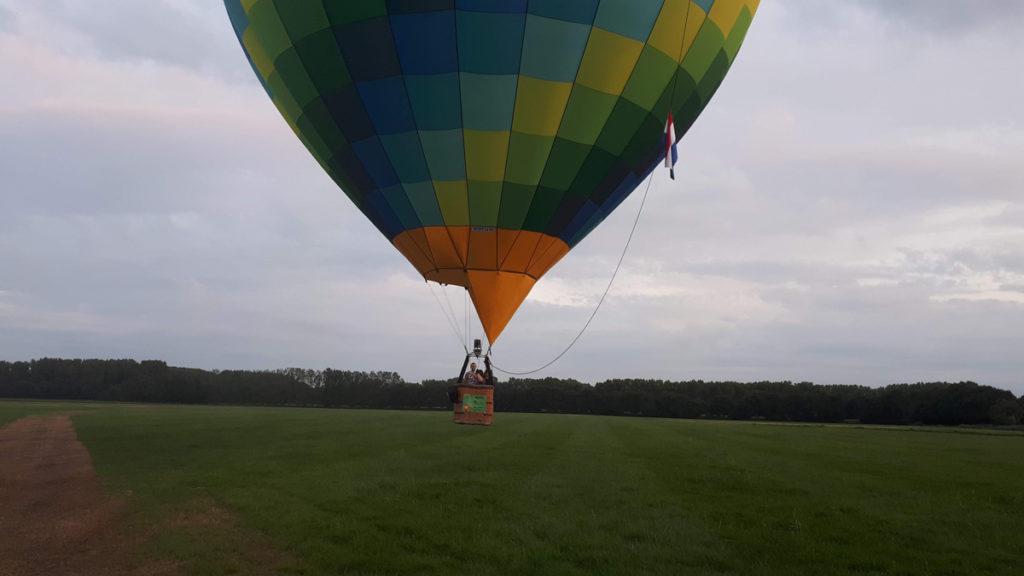 Ballonvaart vanaf Eindhoven naar Beek en Donk
