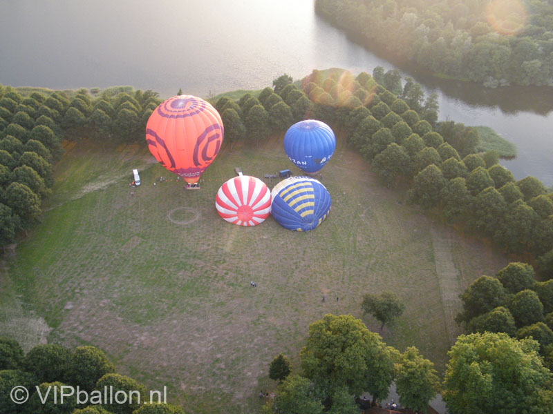 Ballonopstijging Pettelaar Den Bosch