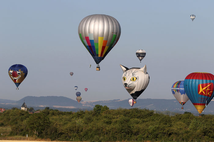 Luchtballon festival Frankrijk Metz