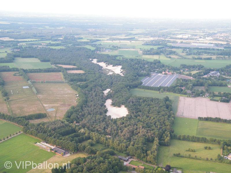 Luchtfoto Bedafse bergen Vorstenbosch