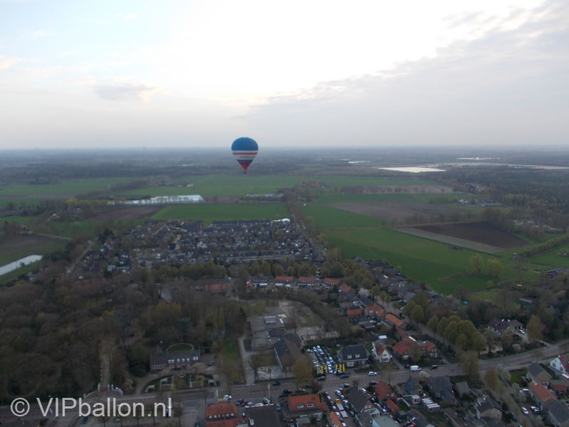 Ballon boven Mariahout