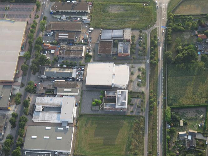 Luchtfoto Boonman bedden Schijndel