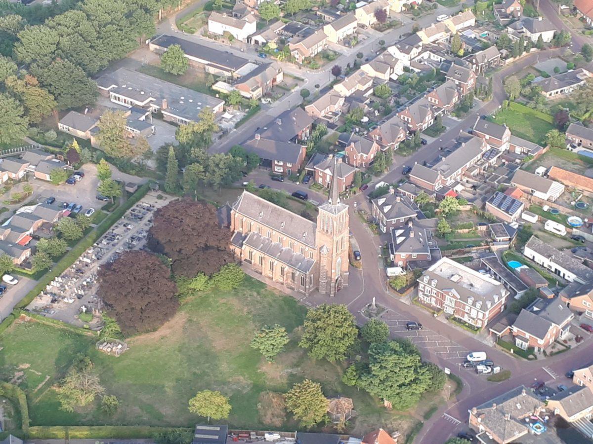 De kerk van Antonius Abt in Eerde